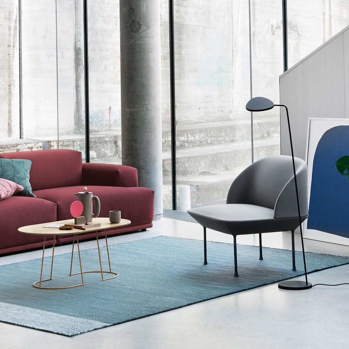 Muuto Leuchte oslo lounge chair muuto connox shop
