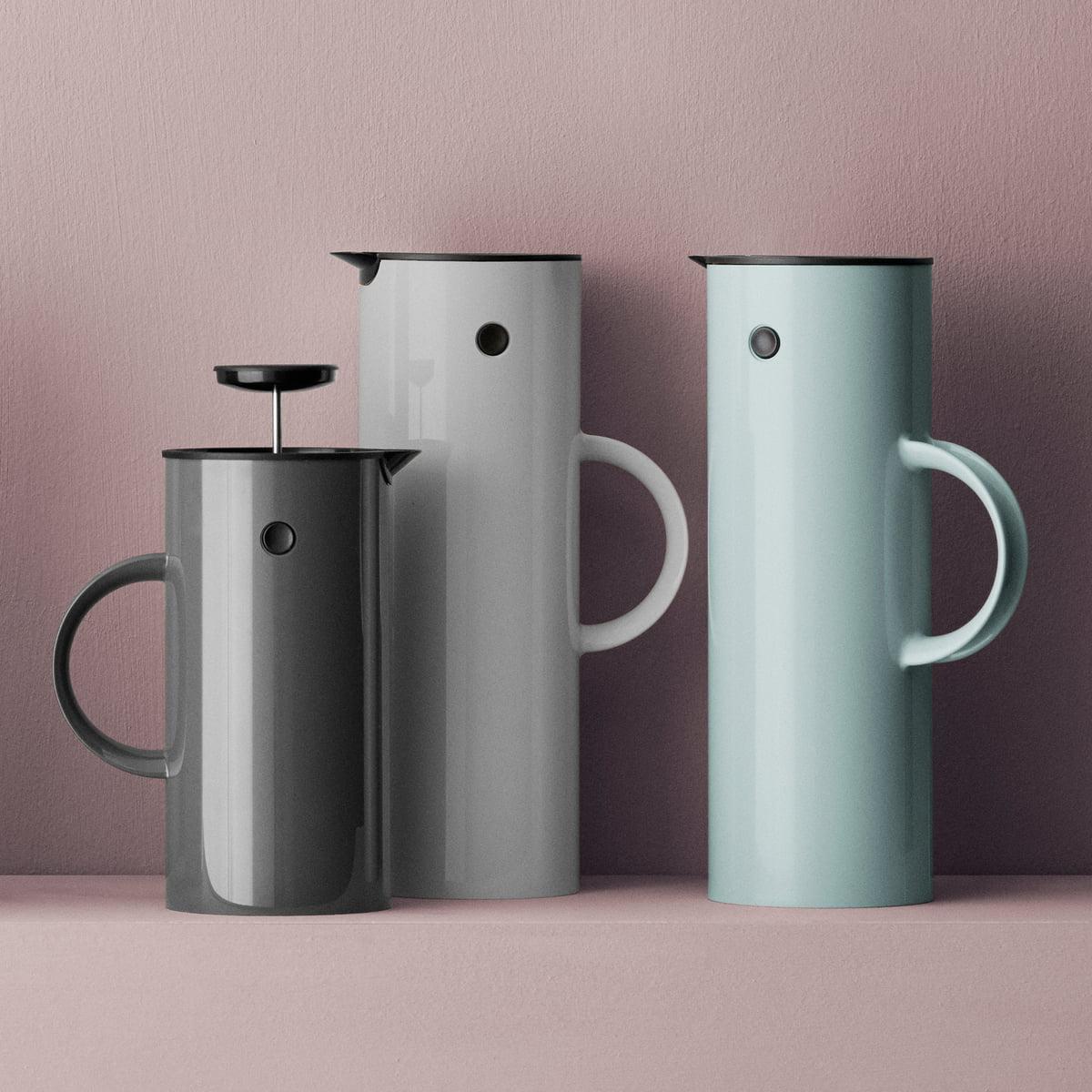 em tea maker 1 l by stelton connox. Black Bedroom Furniture Sets. Home Design Ideas