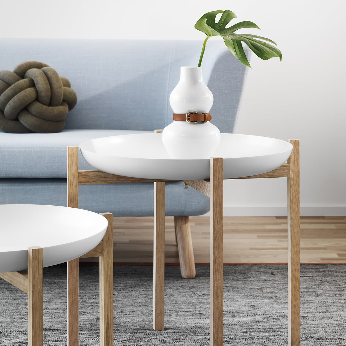 Tablo side table by design house stockholm for Couch beistelltisch