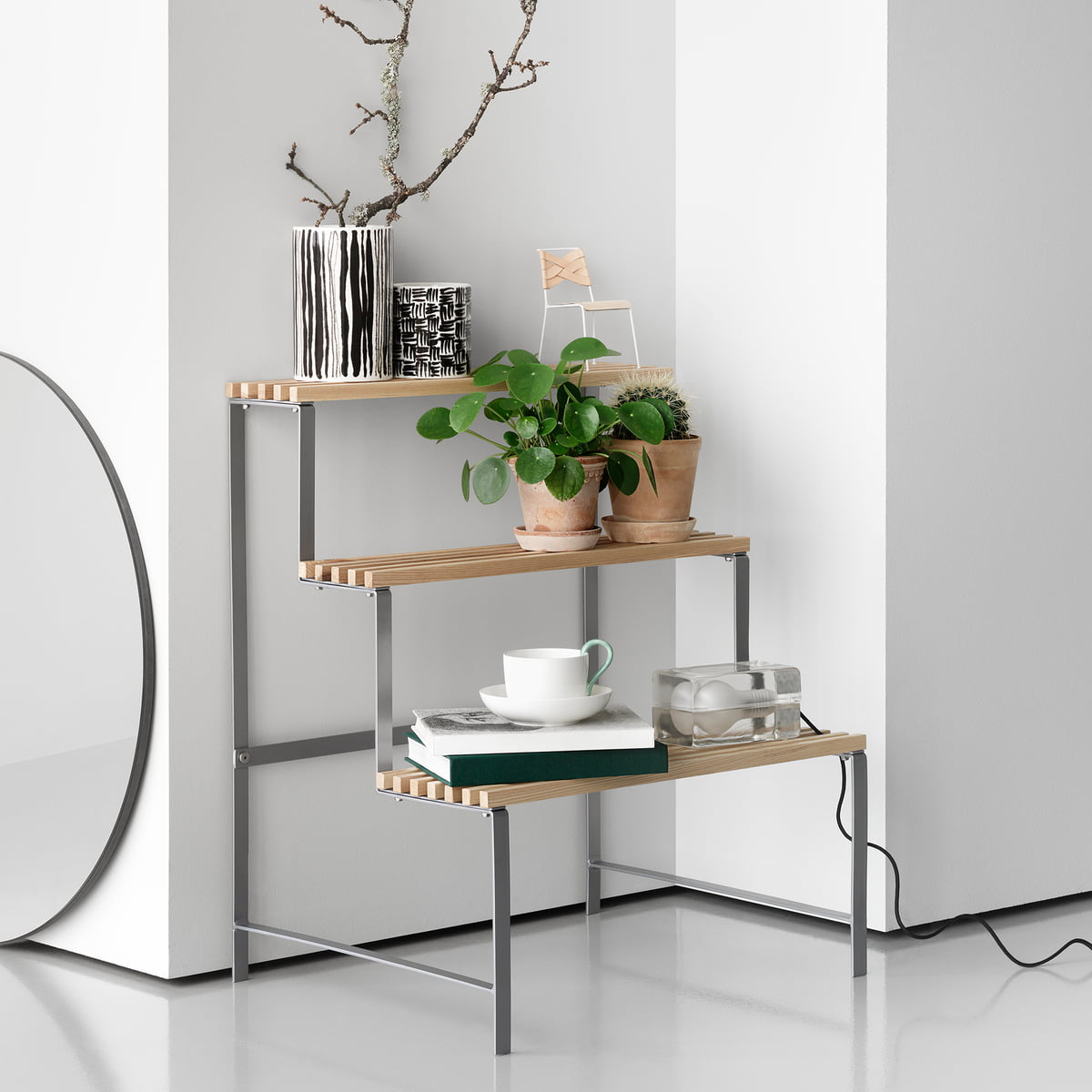 flower pot stand by design house stockholm. Black Bedroom Furniture Sets. Home Design Ideas