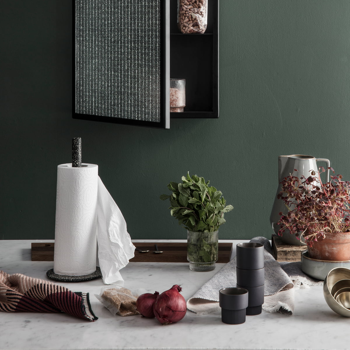 Buckle Kitchen Roll Holder By Ferm Living