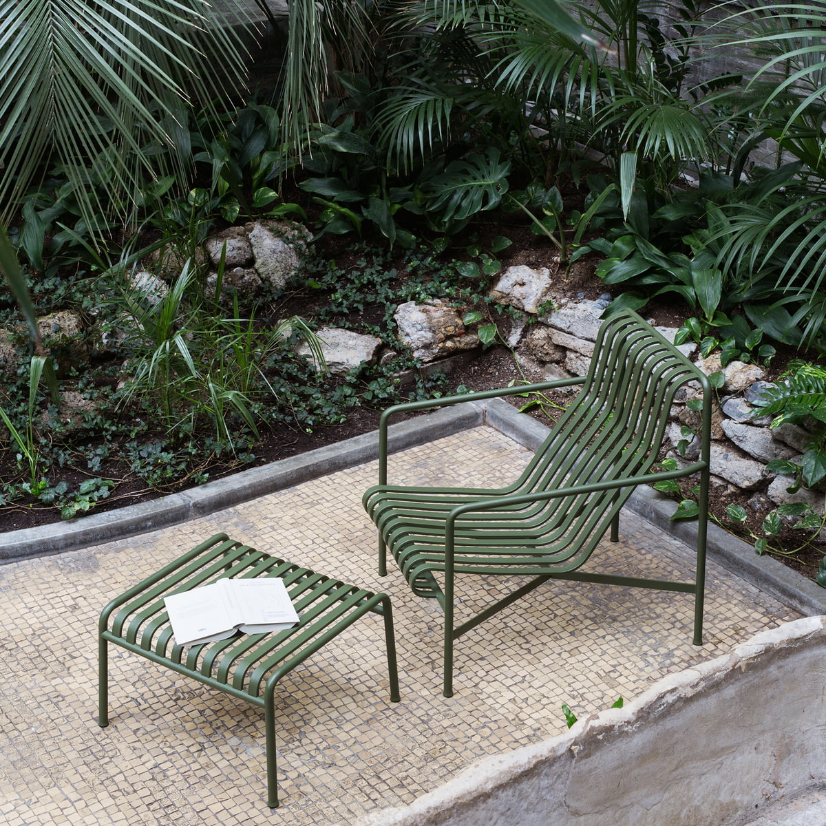 Palissade Lounge Chair High By Hay At The Shop