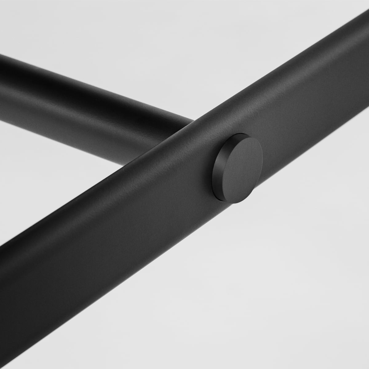 Mies dining table by Million Connox Shop : Million Mies Dining Table 200x90 cm schwarz Detail from www.connox.co.uk size 1200 x 1200 jpeg 45kB