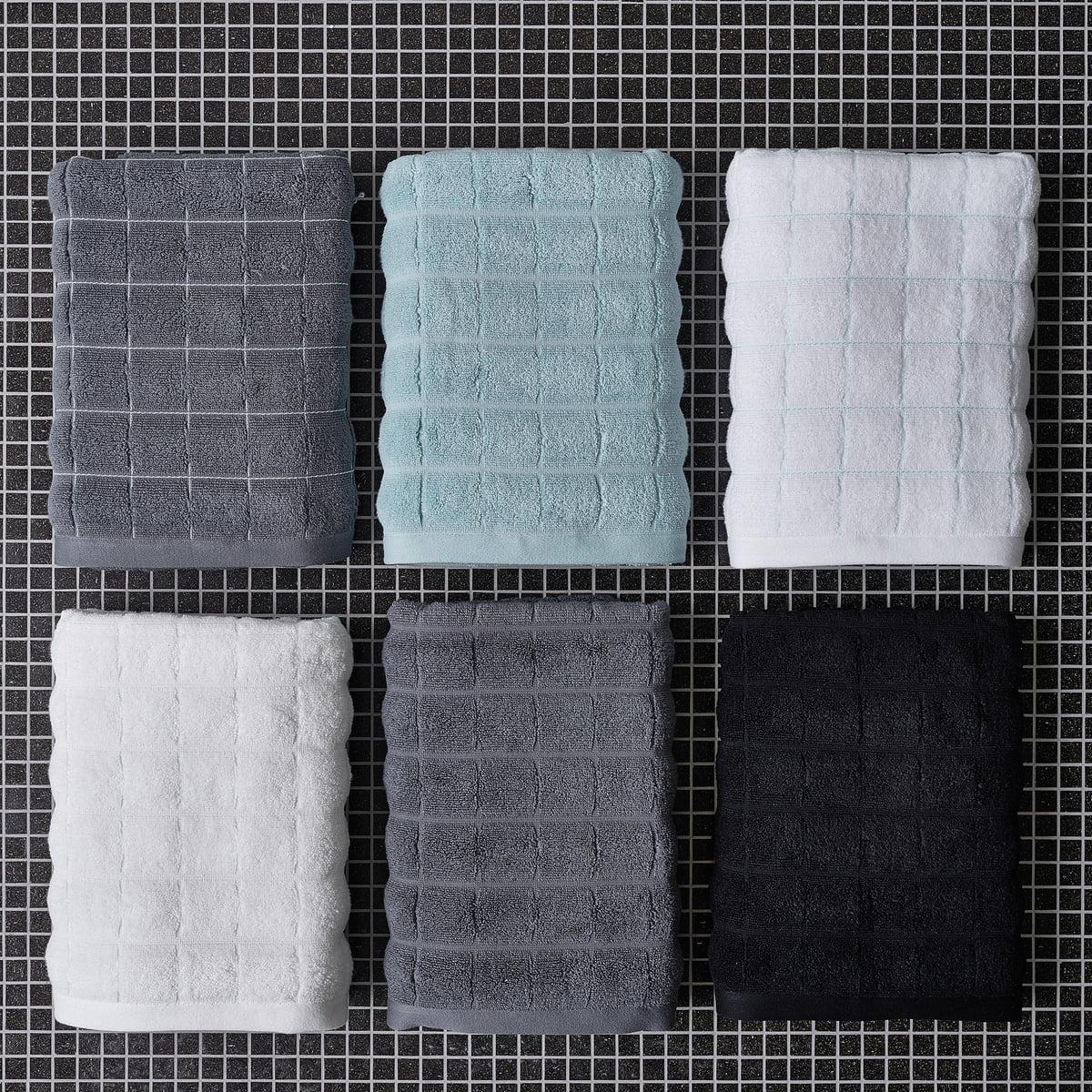 Tiles Bath Towel by Juna   Connox Shop