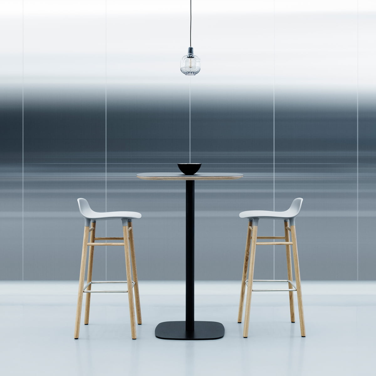 Form Bar Stool 65 Cm By Normann Copenhagen