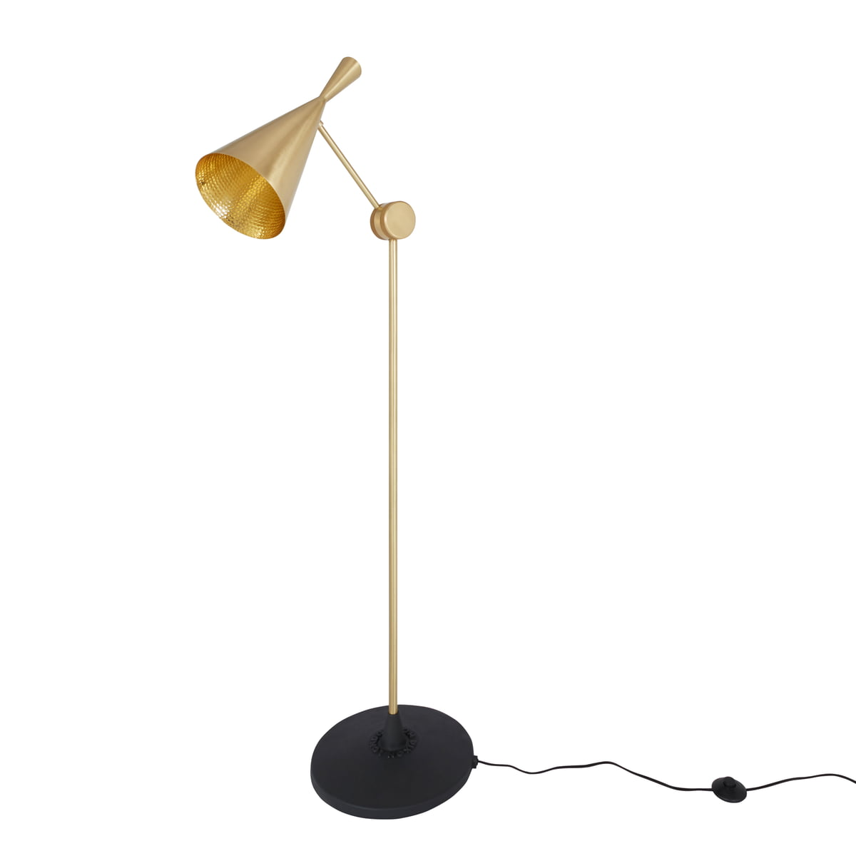 beat floor lamp by tom dixon at connox. Black Bedroom Furniture Sets. Home Design Ideas