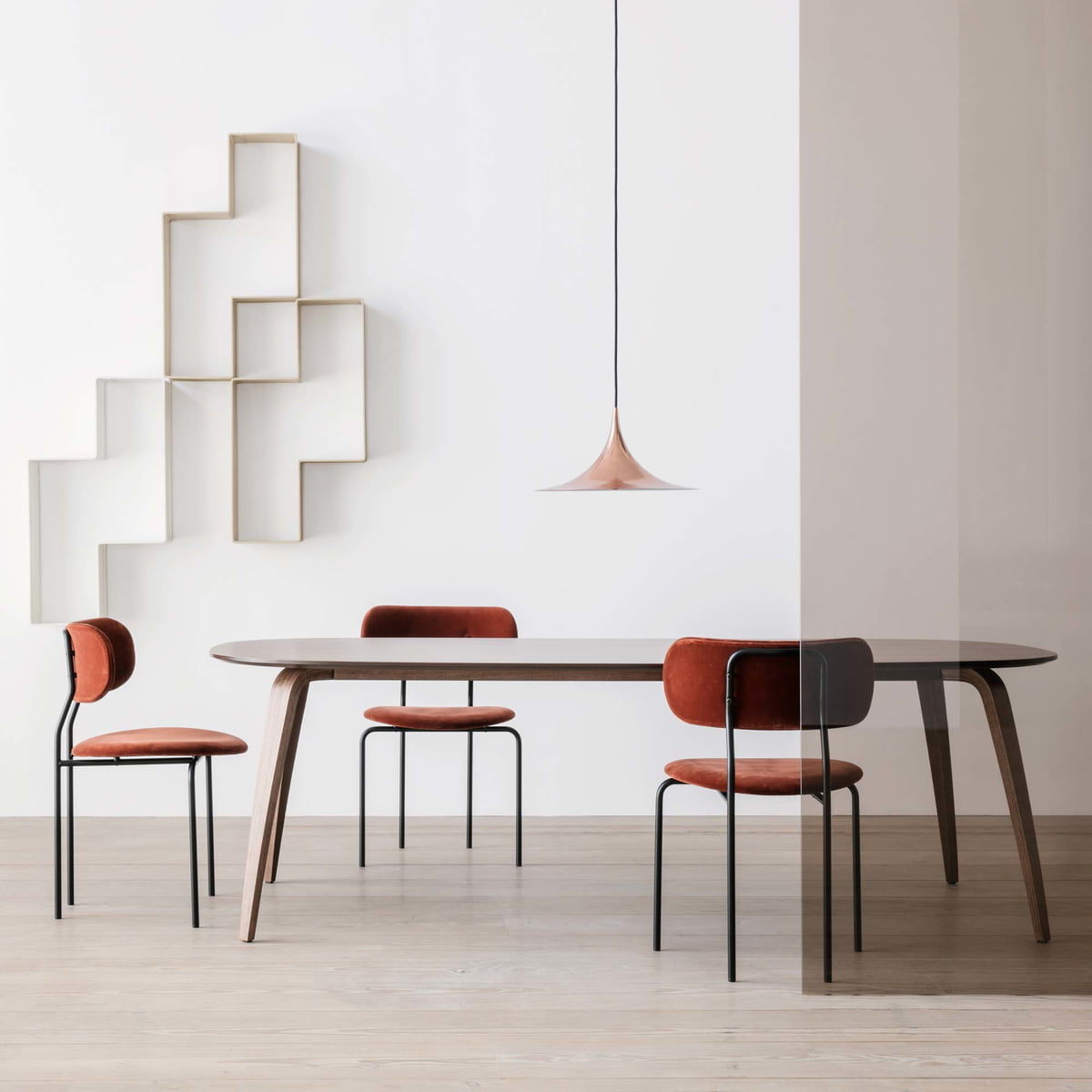 Rectangular Dining Table By Gubi Connox