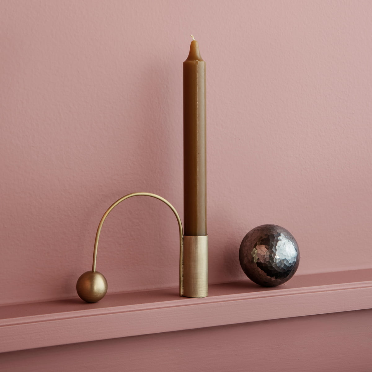 Balance candleholder by ferm living connox for Connox com