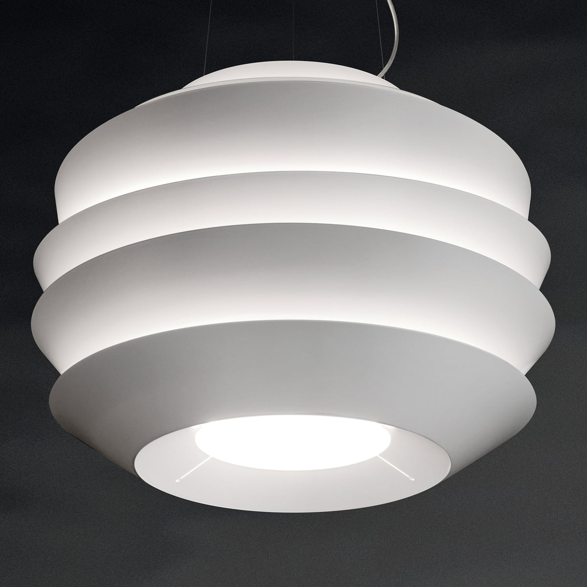 foscarini le soleil pendant lamp foscarini connox. Black Bedroom Furniture Sets. Home Design Ideas