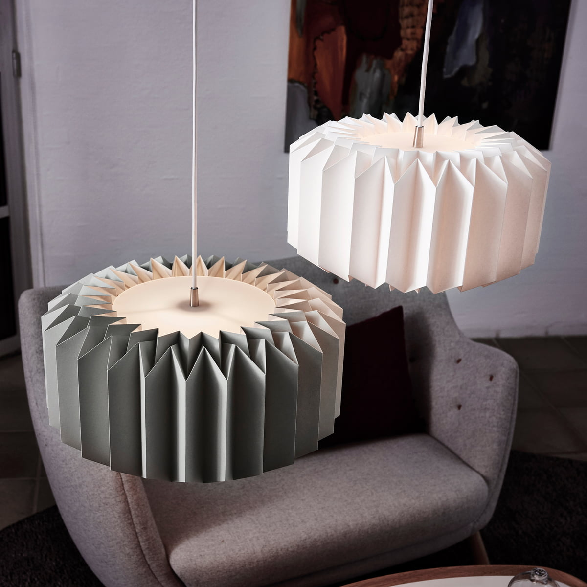 154 Paper Lamp by Le Klint Connox