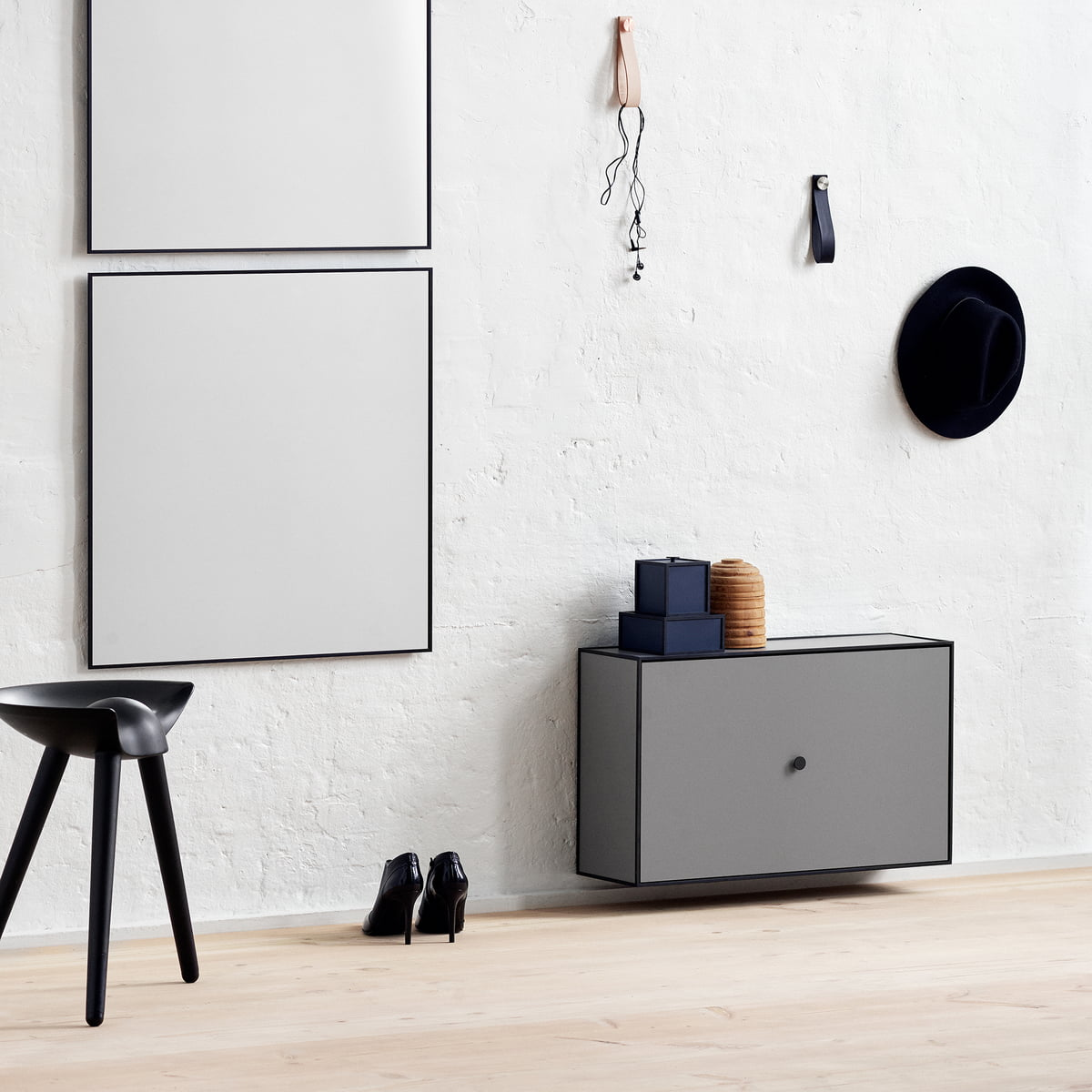 frame shoe cabinet from by lassen connox. Black Bedroom Furniture Sets. Home Design Ideas