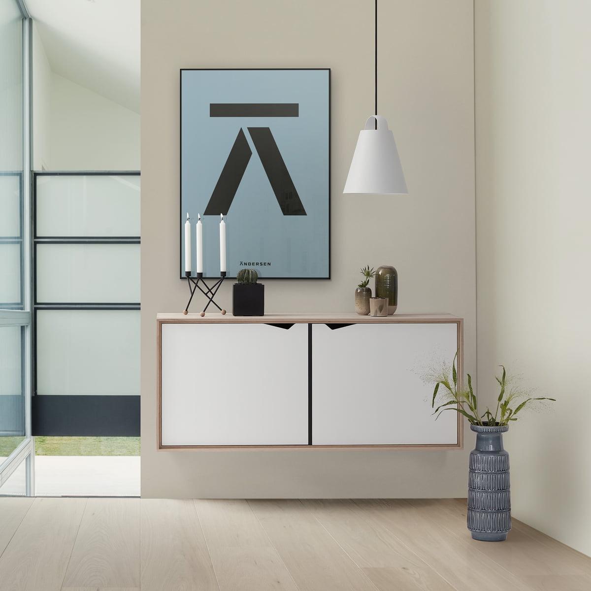module furniture. Andersen Furniture - S2 Hanging Module With 2 Doors, Soaped Oak / White Laminate O