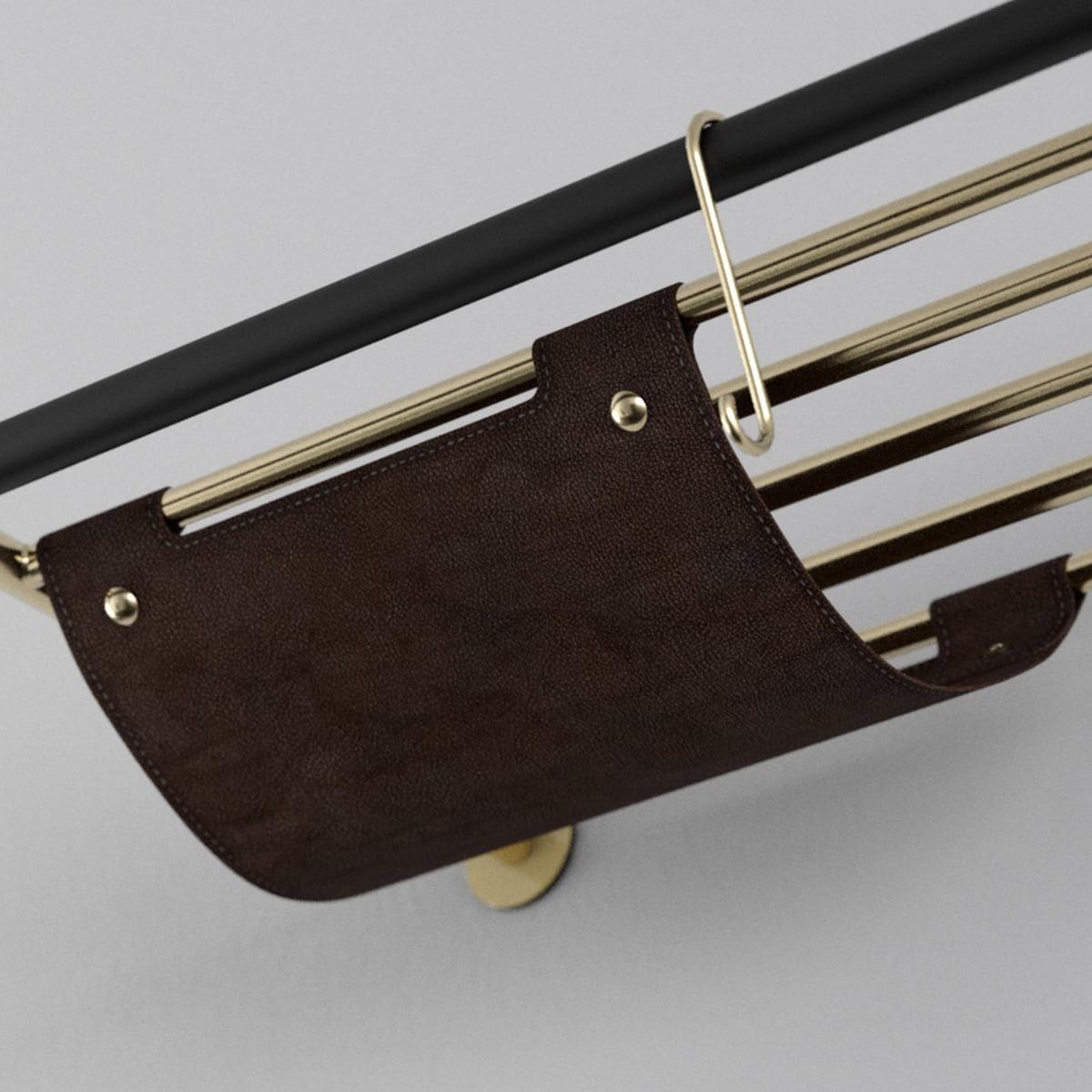 lean coat rack vita connox. Black Bedroom Furniture Sets. Home Design Ideas