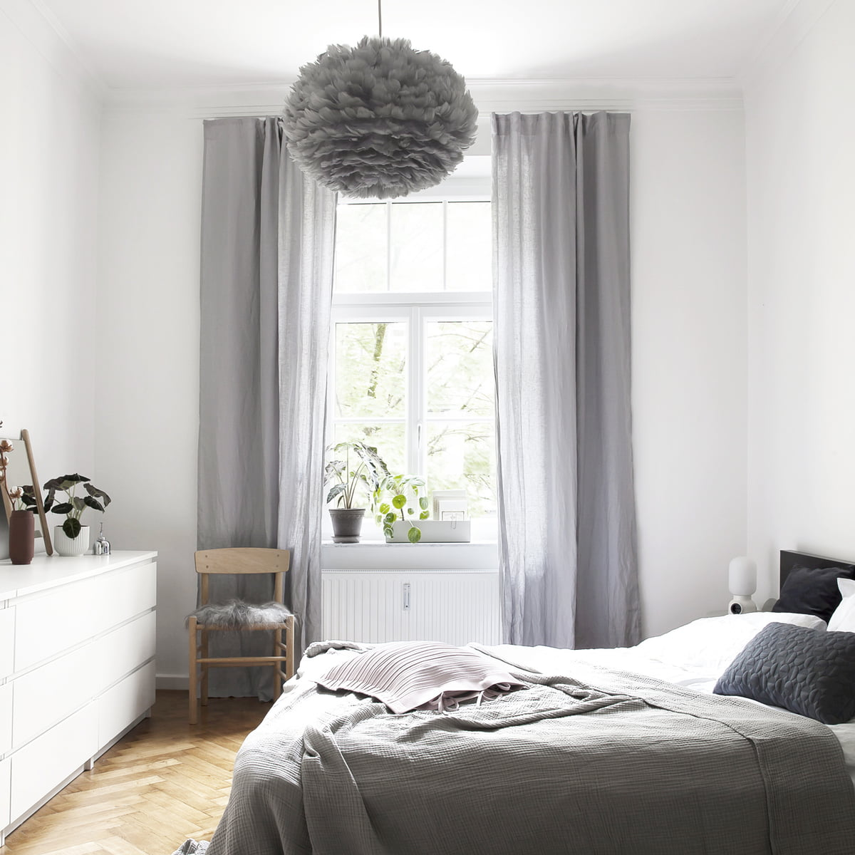 Light Grey Blue Bedroom Images Of Black Bedroom Furniture Bedroom Wallpaper And Curtains To Match Bedroom Bay Window Curtain Ideas: Eos Light Grey By Umage In The Shop