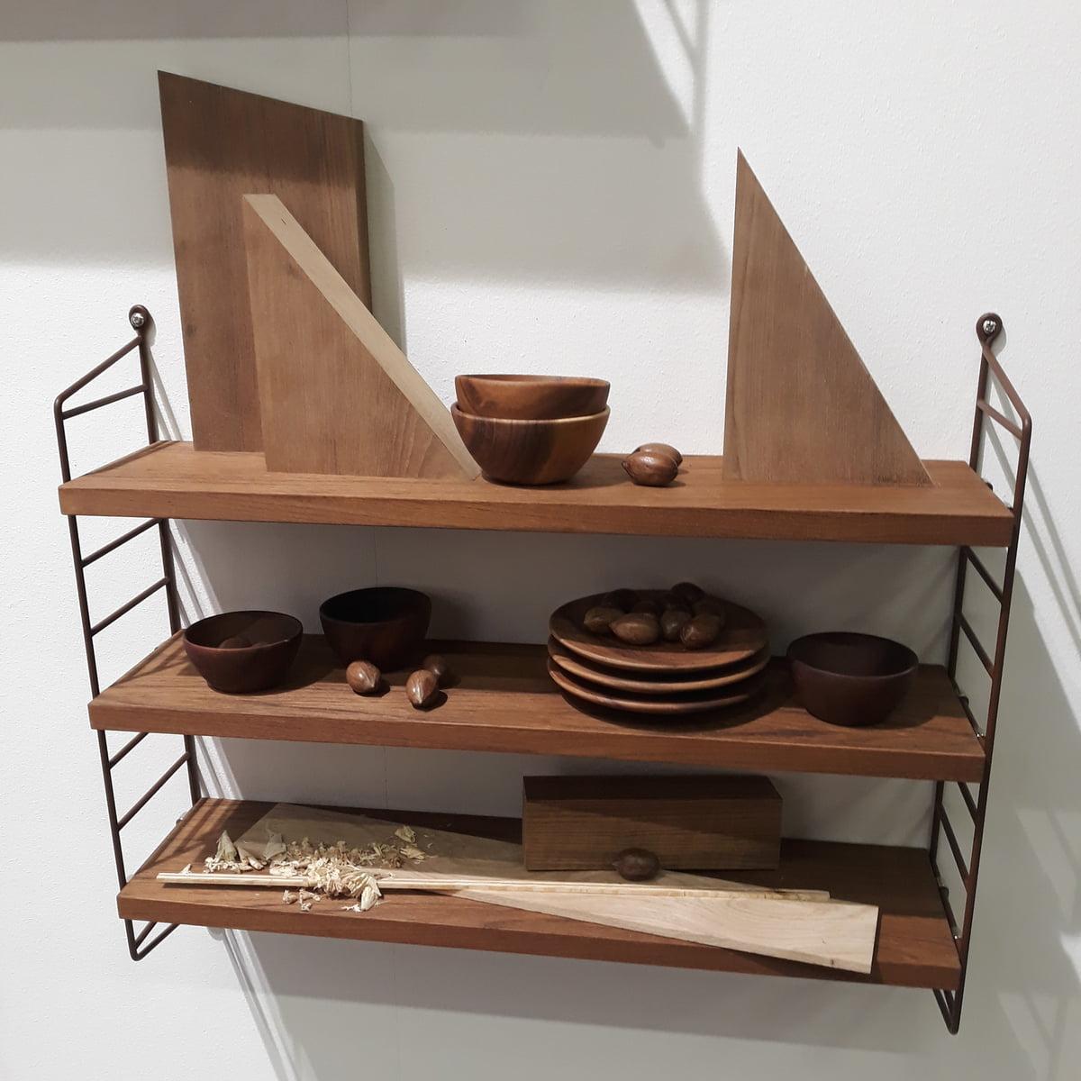 Pocket Wall Shelf by String | Connox Shop
