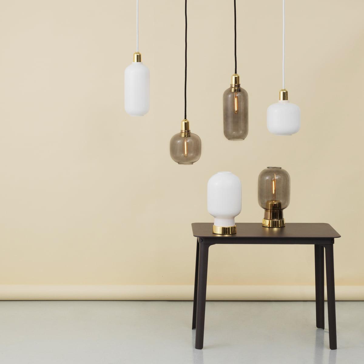 amp pendant lamp by normann copenhagen. Black Bedroom Furniture Sets. Home Design Ideas