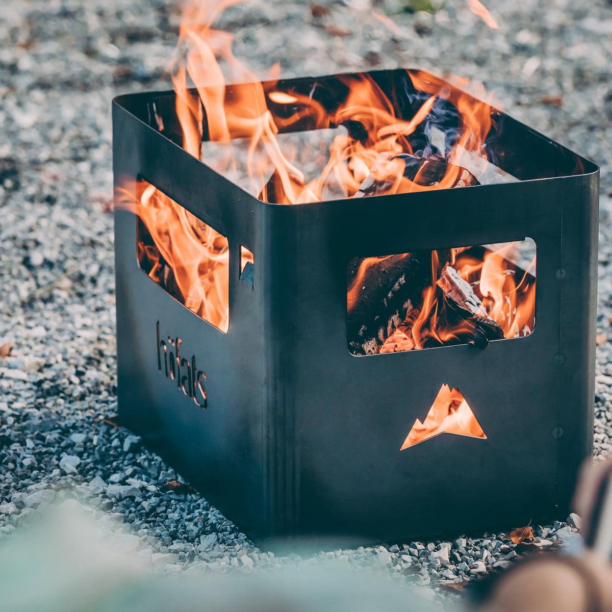 Beer Box Fire Basket Connox