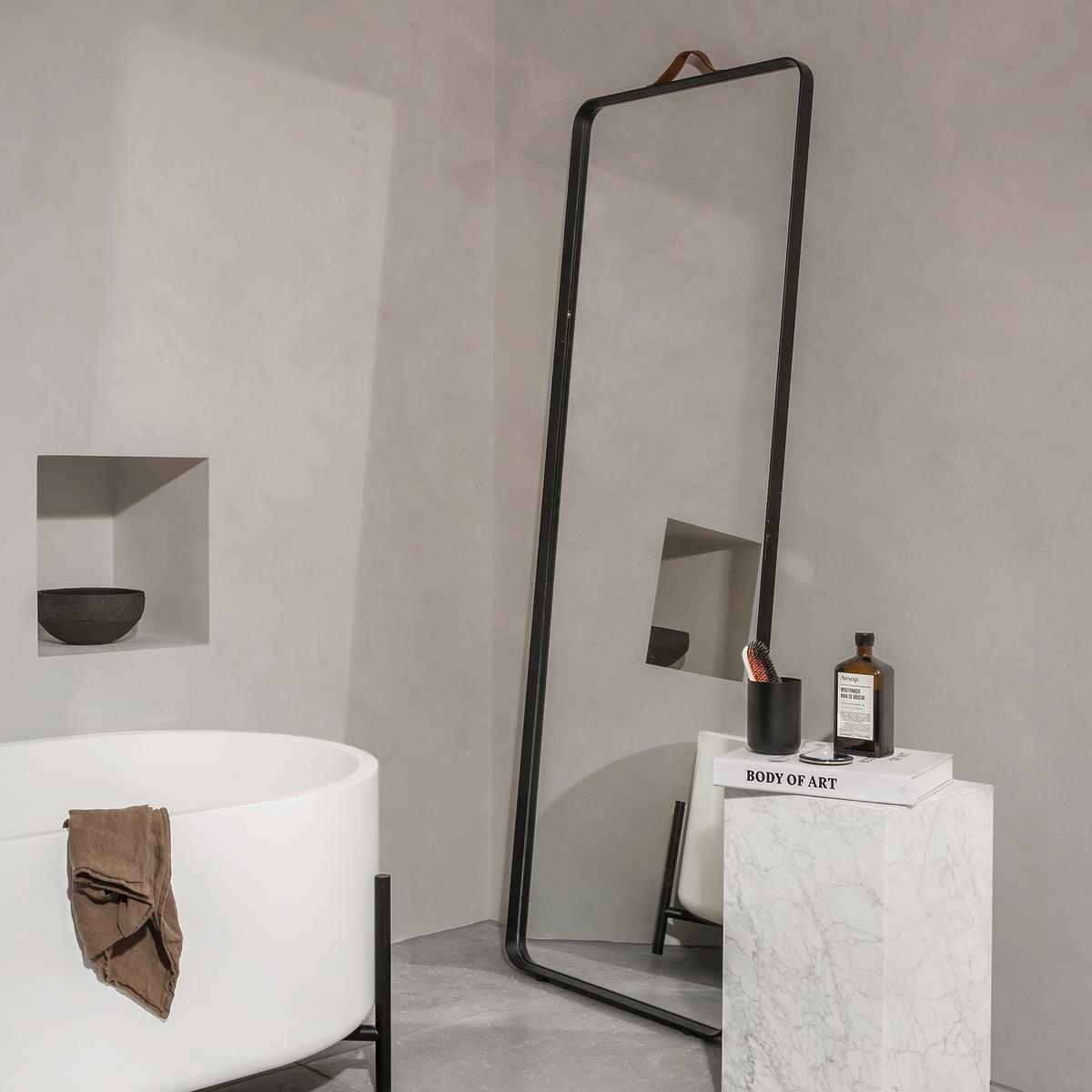 floor mirror. Norm Floor Mirror By Menu, Black Floor Mirror
