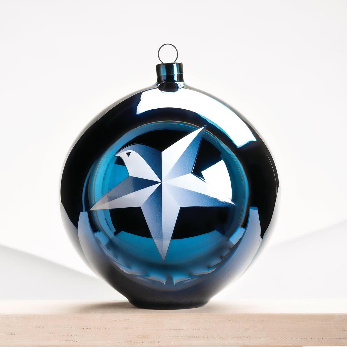 Bauhaus Christbaumkugeln.Alessi Blue Christmas Christmas Baubles Angel