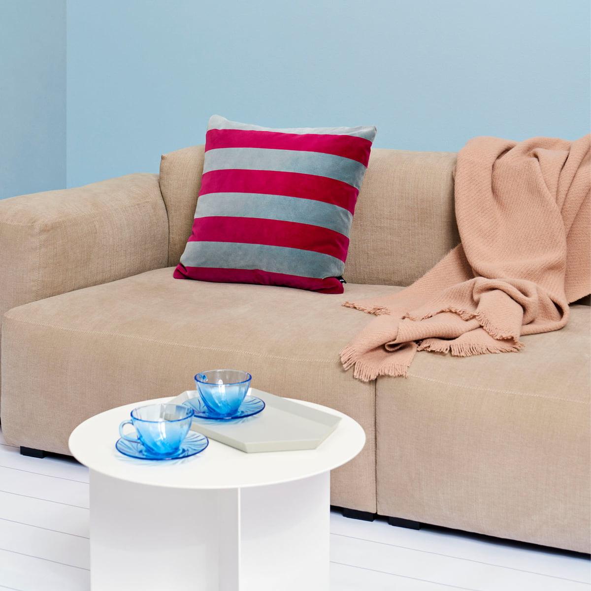 Hay Mono Woollen Blanket 130 X 180 Cm Fog