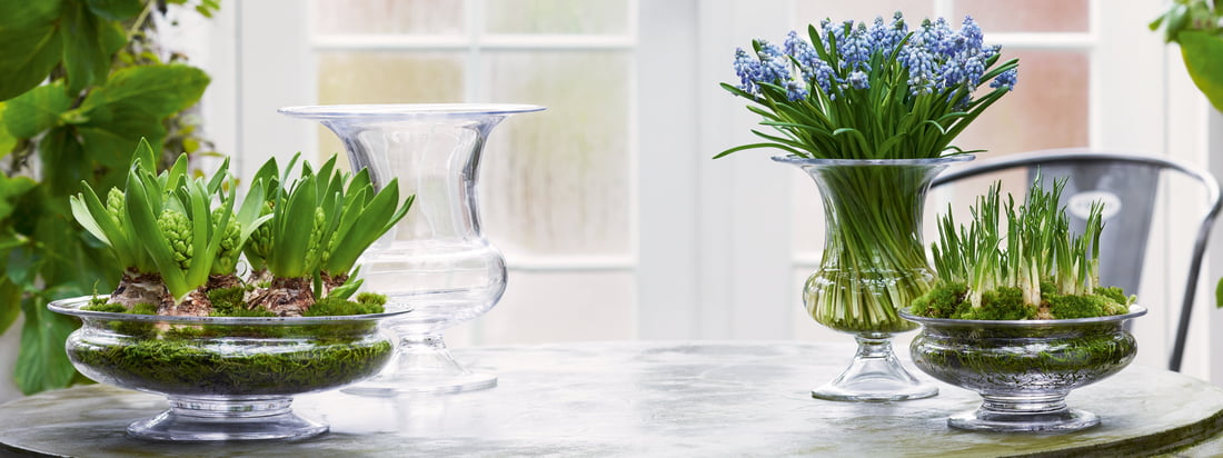 Holmegaard - Old English Vase - banner