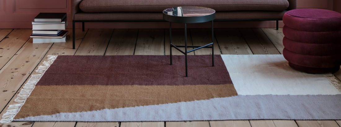 ferm living - Kelim Carpet Square - Collection banner