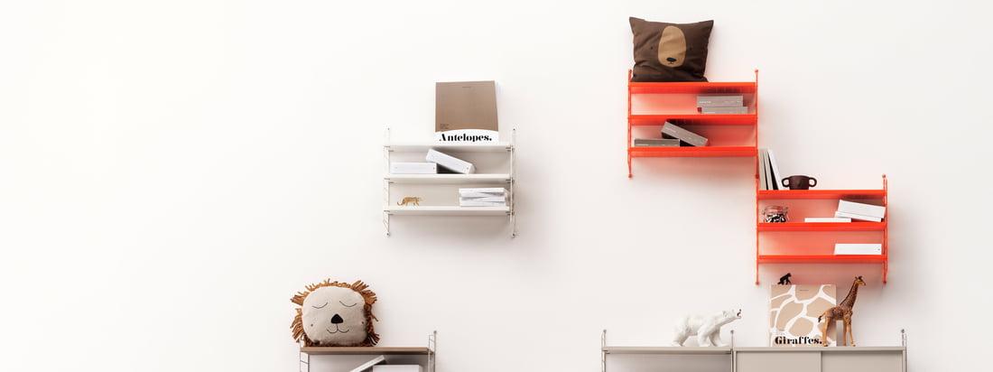 Connox advent calendar - door 8 - string Pocket wall rack