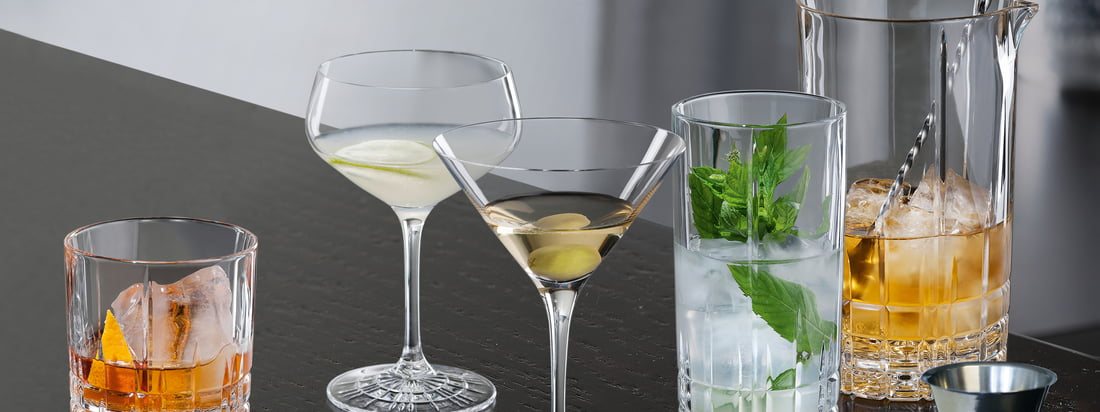 Spiegelau - Perfect Serve Glass Series - Banner 3840x1440