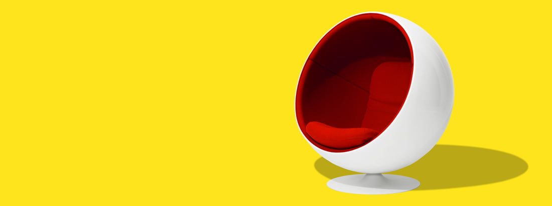 Eero Aarnio Originals produces the iconic products from the Designer Eero Aarnio. The most famous design is the Ball Chair, a shell-shaped, modern chair.
