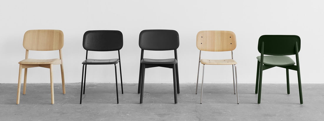 "The soft moulded seat and backrests allow for ""dynamic sitting"". The corners of the extremely thin seat surface are bent away from the body allowing it to comfortably adapt to human movements."
