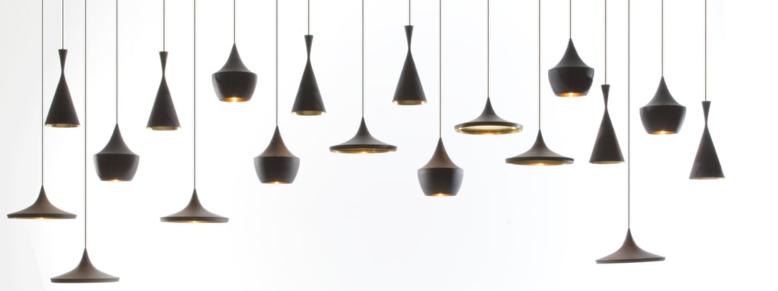 Tom Dixon - Beat Pendant Lamp, black 16zu6