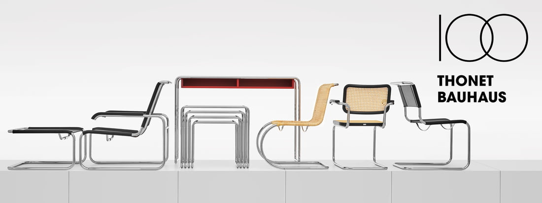 Thonet - Bauhaus Collection Banner 3840x1440
