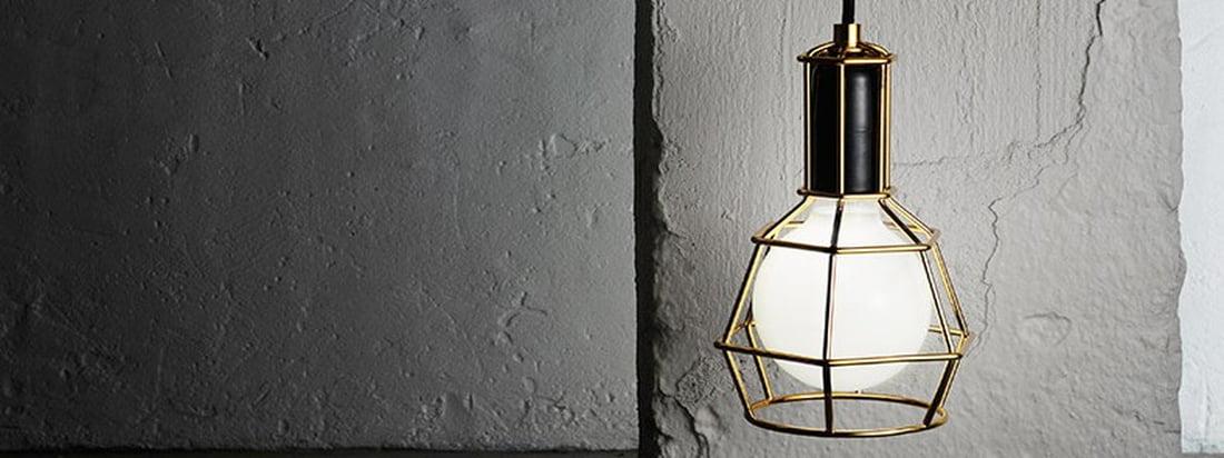 Design House Stockholm - Work Lamp gold