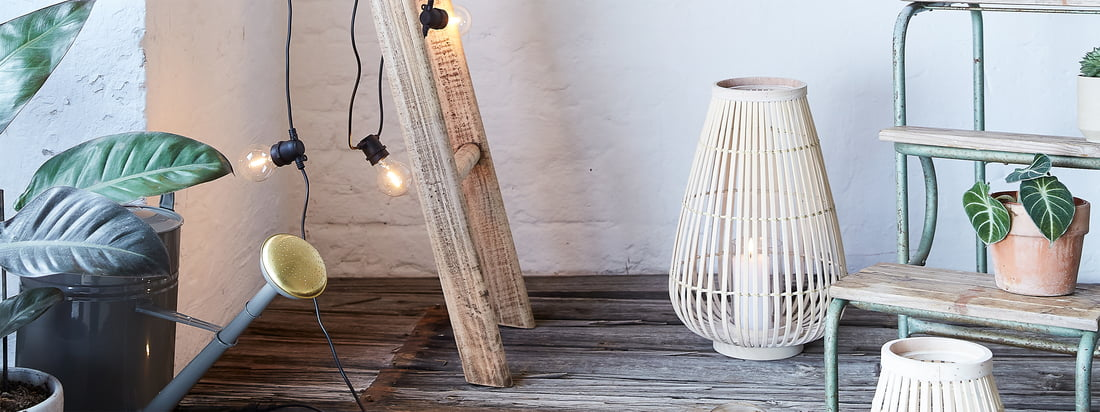Outdoor ambience - Collection lanterns