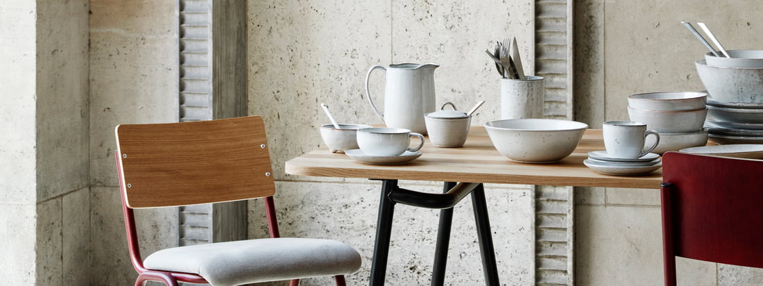 Broste Copenhagen - Nordic Sand tableware banner 3840x1440