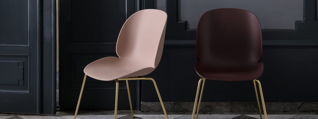 The Beetle Dining Chair by Gubi with Conic Base is an ideal solution for any living space and also looks good in public places such as hotels or restaurants.