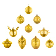 A di Alessi - Bethlehem Story Christmas Baubles