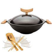 Spring - Cast Wok with Accessories (6 pcs.)