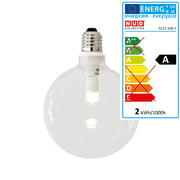 NUD Collection - Dimmable LED bulb with clear glass