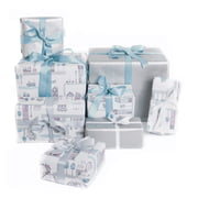 Sebra - Wrapping Paper Village