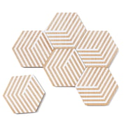 Areaware - Table Tiles Optic Coasters