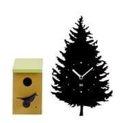 Kookoo - Tree-BirdBox Clock