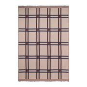 ferm Living - Checked Wool Blanket