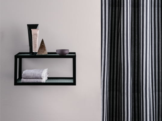The Kali Mirror Cabinet by Authentics provides stylish storage space for your bathroom products. Complement the bathroom cupboard with designer accessories such as the Kali toothbrush cup, rubbish bin, soap holder, Kali cup or other bathroom decoration.