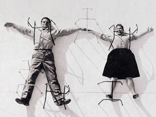 Charles & Ray Eames - Theme image designer couples