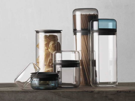 Juuri by menu is a storage collection which was designed by the young German designer Sarah Böttger. The jars are madeout of borosilicate glass. They are heat-resistant and airtight.