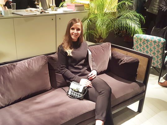 LauraKrajewski from Connox at the imm Cologne 2017