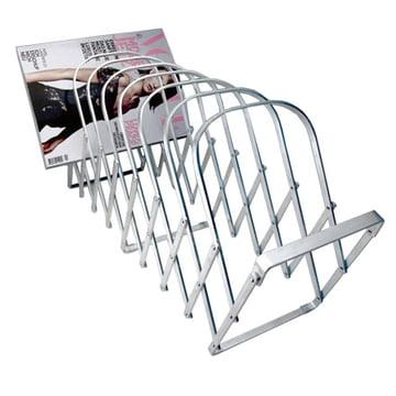 Collator magazine rack