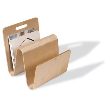 Offi - Newspaper rack Mag Stand in birch