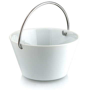 Eva Solo Porcelain Bowl with Handle - 0.5l - white